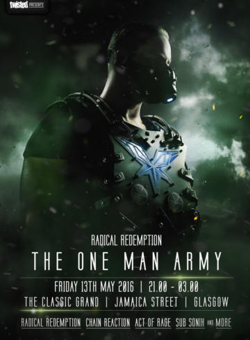 InfeXious: Radical Redemption: One Man Army World Tour