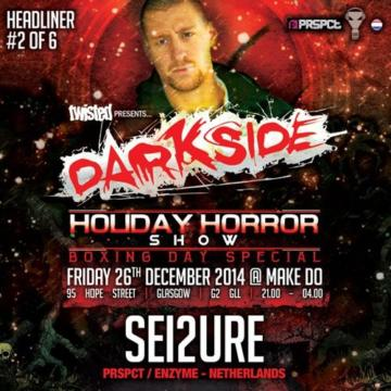 Motormouth Podcast 002 – SEI2URE – Darkside: Holiday Horror Show Mix#1