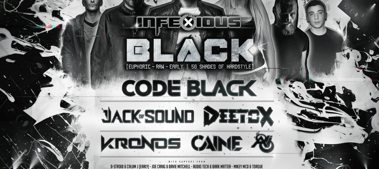 infeXious Hardstyle Podcast 071 – KRONOS – infeXious Black Promo Mix