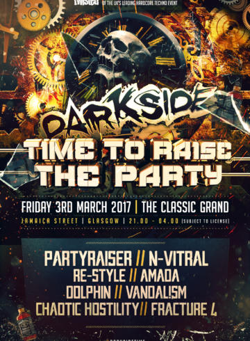 Darkside: Time To Raise The Party !