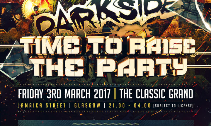 DARKSIDE : Time To Raise The Party! – Official Trailer