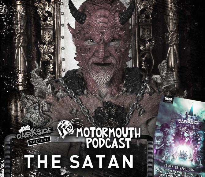 Mouthcast 045 – THE SATAN – Darkside XL Promo Mix #2