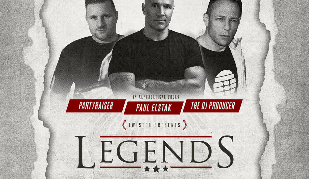 Darkside Legends: Partyraiser, Paul Elstak & The DJ Producer