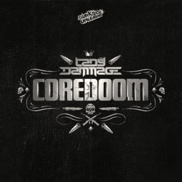 Lady Dammage's new album Coredoom to buy on our new Twisted's Webshop