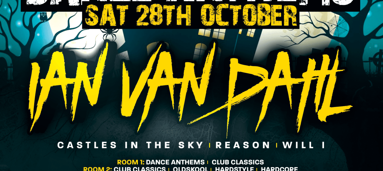 "Halloween Dance Anthems w/ Ian Van Dahl : ""Castles In The Sky"""