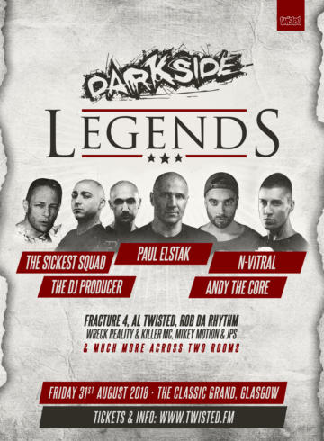 Darkside Legends (new date)