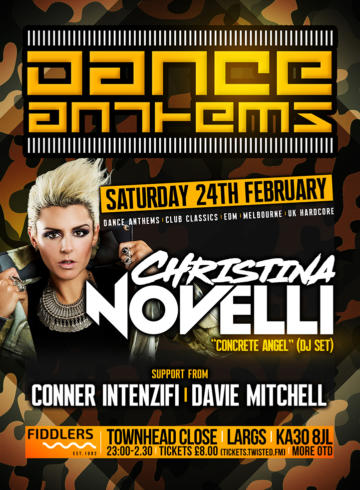 Dance Anthems with Christina Novelli