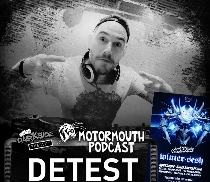 Mouthcast 055 – DETEST – Darkside Winter Sesh Promo Mix #4