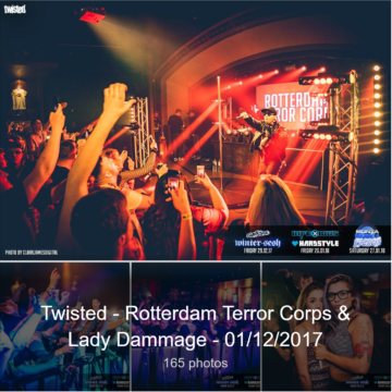Pictures online for Twisted : Rotterdam Terror Corps & Lady Dammage – 01/12/2017