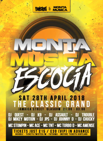 Monta Musica Escocia – Round 2 – Sat. 28th April