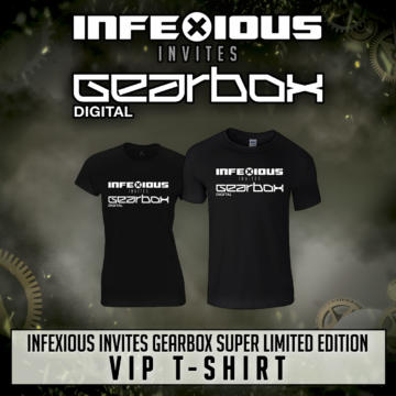 InfeXious invites Gearbox Digital VIP T-shirts