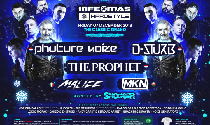 InfeXmas Hardstyle Full Line-up