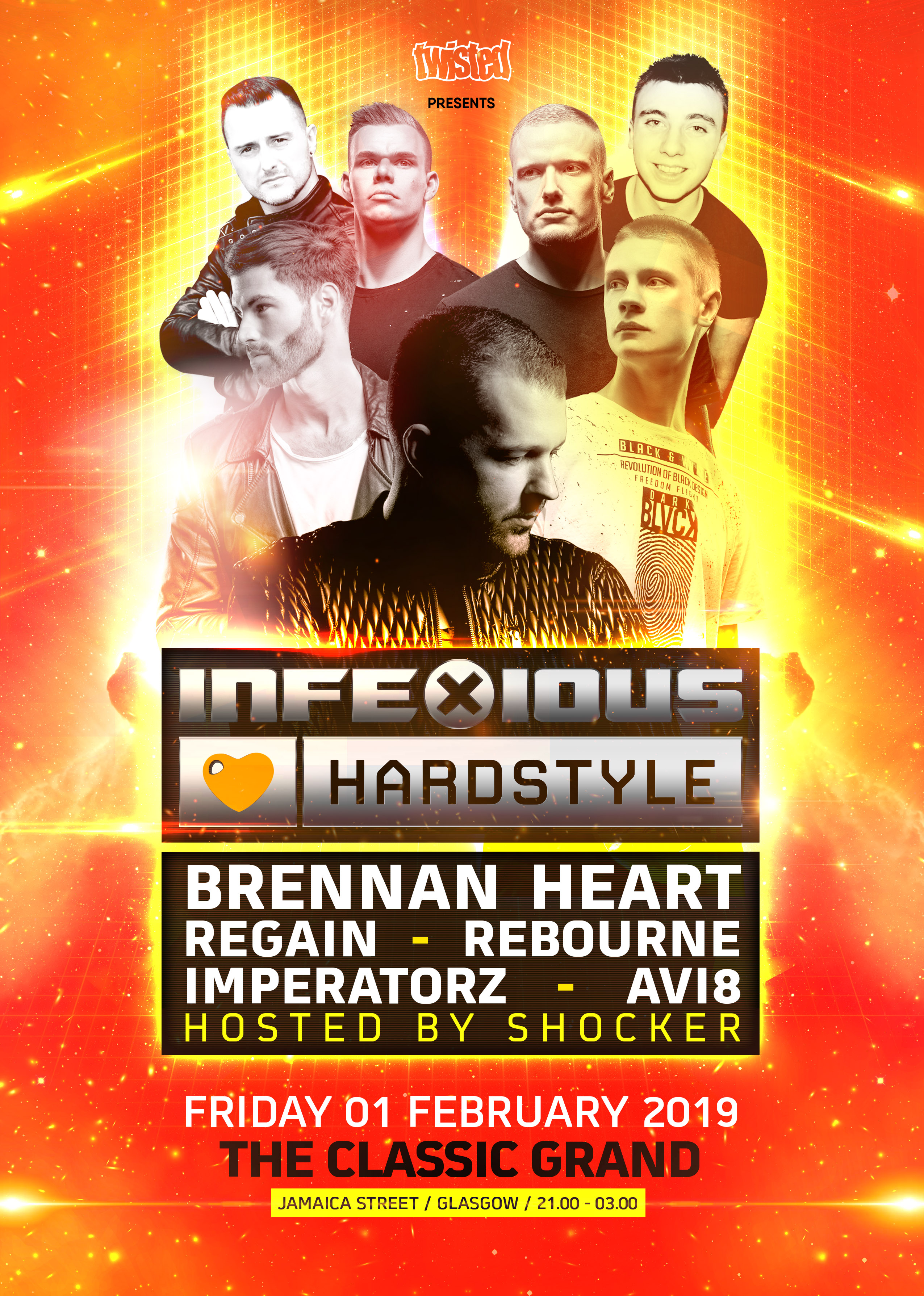 Twisted » InfeXious Loves Hardstyle