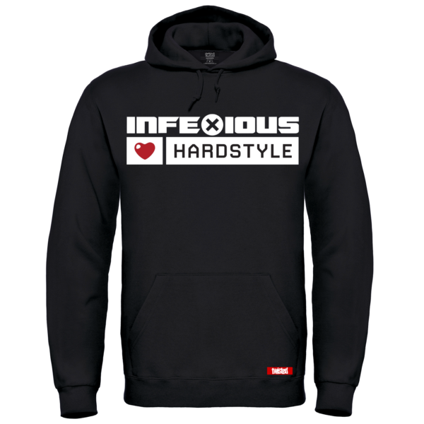 InfeXious Loves Hardstyle – Hoodies