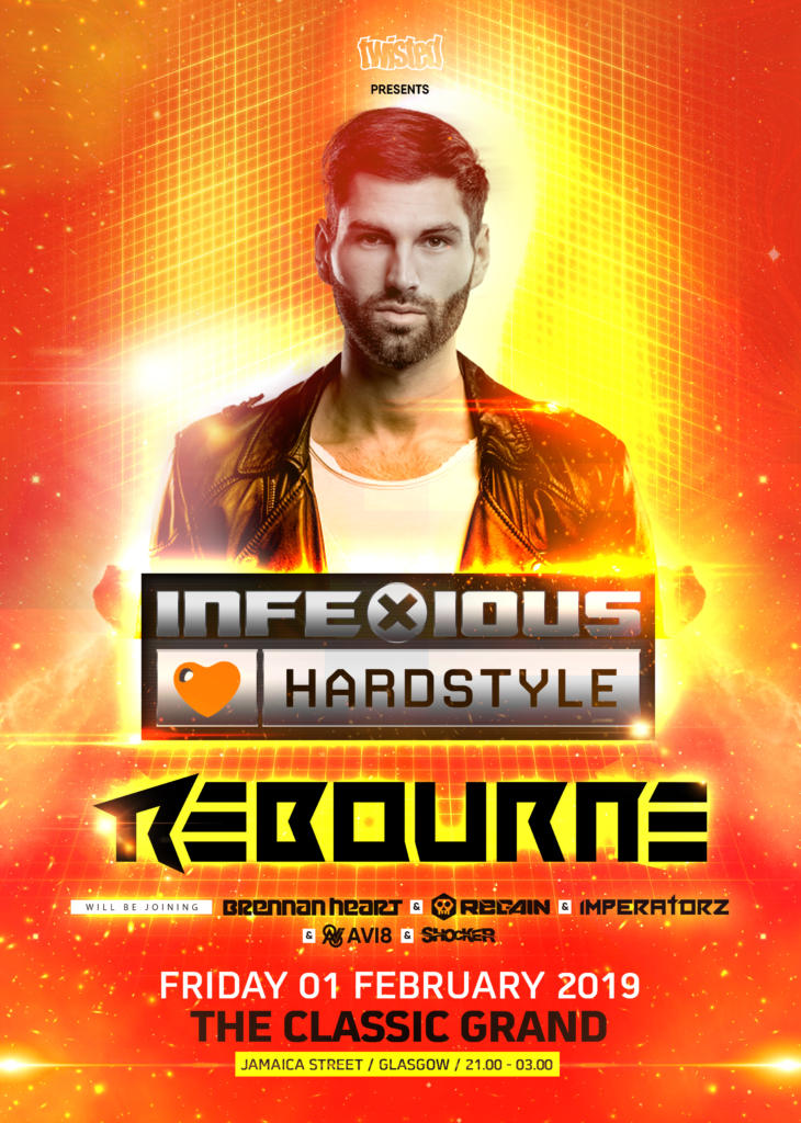 Twisted » InfeXious Loves Hardstyle – Headliner #6