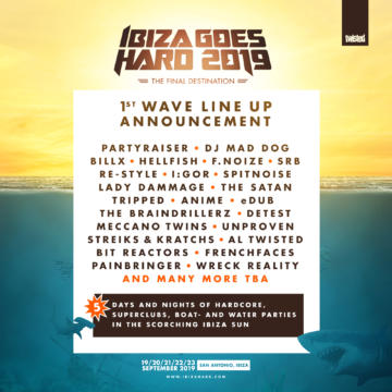 IGH 2019 – First Wave Line-up Announcement