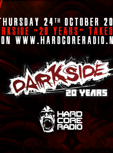 Darkside 20 Years Take Over on Hardcore Radio