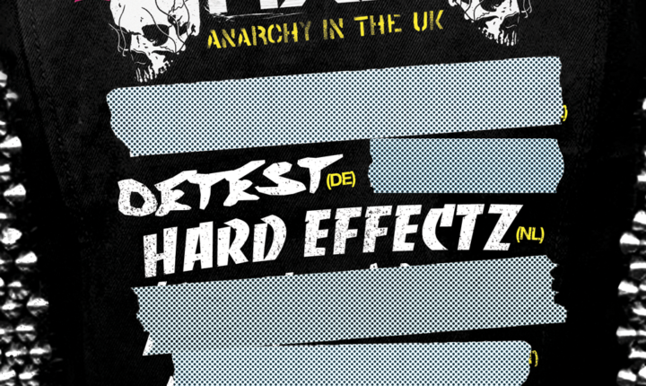 Darkside & SOC – FOOTWORXX – Anarchy in the UK : First 2 Artists announced + Last Phase 2 Tickets!