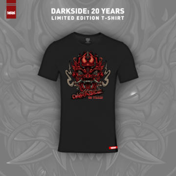 Limited edition Darkside 20 Years t-shirts