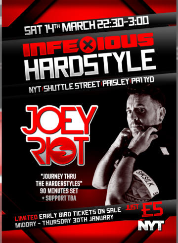 InfeXious Hardstyle presents Joey Riot