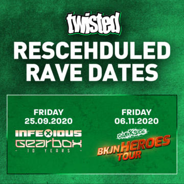 Darkside BKJN & InfeXious Rescheduled